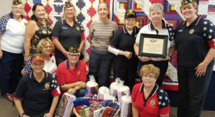 Women veterans contribute to Quilts of Valor