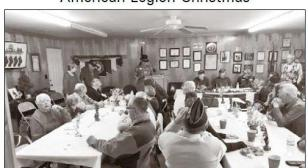 American Legion Post 96 (Murphy, N.C.) Christmas dinner