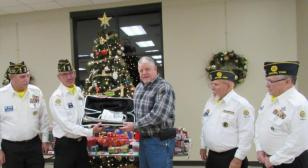 Dover (Tenn.) Post 72 honor detail/guard receives special presentation