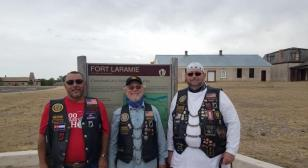 AL Riders of Post 15 visit historic Fort Laramie