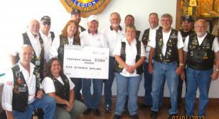 Minnesota Riders donate to Honor Flight