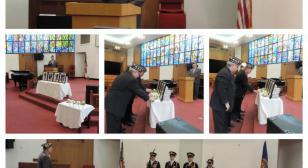 Col. Lewis L. Millett Memorial Post 38 hosts Four Chaplains ceremony