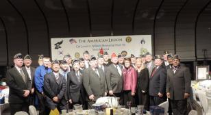 Chartering and stand-up ceremony for Lewis L. Millett Memorial Post 38
