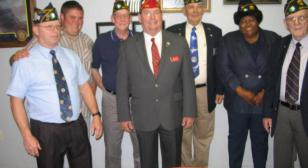 National Commander James E. Koutz Visits  Mississippi  Coast