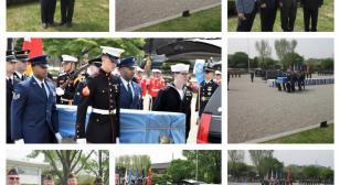 Korean War repatriation ceremony