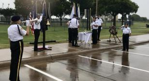 Honor guard defies weather to achieve successful Memorial Day event