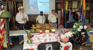 Arkansas Post 71 hosts Candles of Honor during ceremony