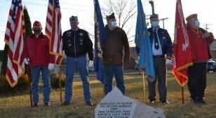 Memorial honors those in 'Second Korean War'