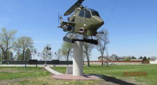 Veterans memorial in South Dakota repurposes former military chopper