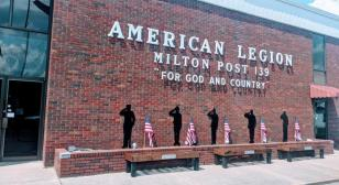 Eagle Scout project honors vets at Post 139 in Milton, W.Va.