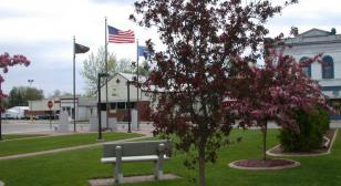 Petroleum-contaminated site to veterans park and memorial