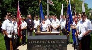 Illinois post commemorates Memorial Day