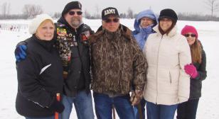 Legion Riders help remove wreaths from Great Lakes National Cemetery