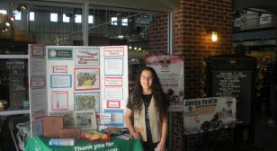 Girl Scout raises $13,000 to build women in service monument