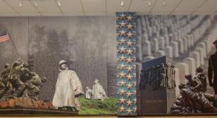 Clopper-Michael Post 10 Veteran's Mural and Memorial