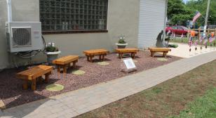 Eagle Scout project - Remembrance Garden, Post 933