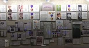 Palm Springs Fallen Heroes Memorial Wall