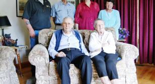 Legionnaire, wife celebrate 75 years of marriage