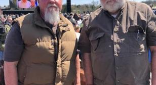 Legionnaires attend dedication of Korean War memorial