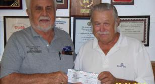 Ron Shoemaker of  Water Oaks Veterans Club