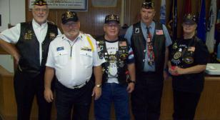 Riders Chapter 284 installs officers
