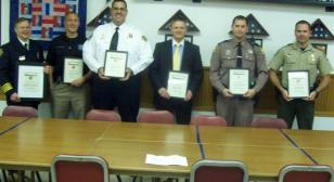 Post 284 holds 15th Law & Order Awards