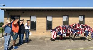Holley-Riddle Post 21 and Boy Scout troops partner in flag retirement ceremony
