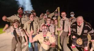 American Legion CSM Gary W. Crisp Post 289 charters three Scout troops