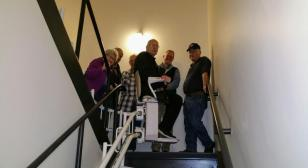 Brainerd American Legion Post 255 installs stair lift