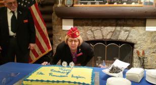 National commander celebrates Legion's 99th birthday at Nanticoke Post 6, Seaford