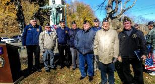 American Legion, ACME and Elks salute heroes on Veterans Day