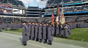 President Trump watches Army defeat Navy 17-10, for third straight win over archrival