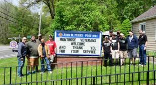 New York Post 1044 support to veterans and community during pandemic