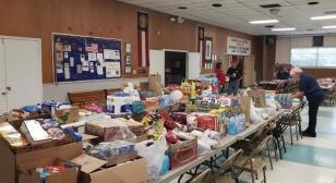Henry K. Burtner American Legion Post 53 food drive