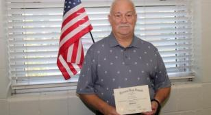 75-year-old Vietnam-era veteran receives high school diploma