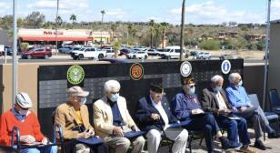 Post 58 participates in WWII veteran recognition ceremony