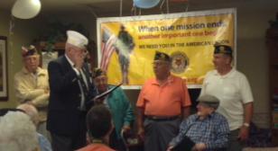 Connecticut post honors 104-year-old World War II veteran