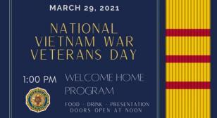 Walter Fraser Post 108 honoring Vietnam veterans