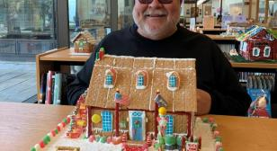 James B. Whipple Post 86 gingerbread house