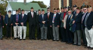 Veterans church service