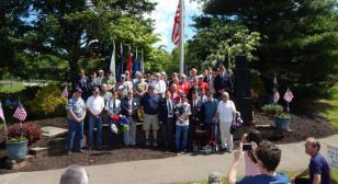 Richland Post 548 Memorial Day ceremony video (2017)