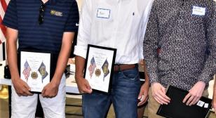 Buckeye Boys State delegates honored by Northeast Post 630