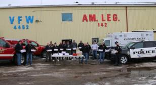 Community outpouring fills Legion boxes