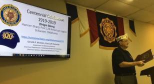 American Legion Post 129 Centennial Celebration