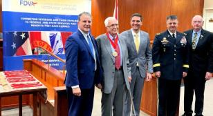 John A. Brinkley inducted into Florida Veterans' Hall of Fame