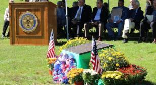 Dedication ceremony in honor of Brig. Gen. Edward Wozenski