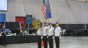 American Legion National Convention Color Guard Competition