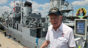 Return to the USS Cassin Young
