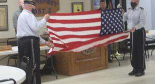 Flag flown in honor of Iwo Jima given to local museum