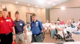 Daniel R. Olsen Post 594 provides flag education for adults